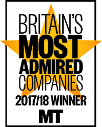 Britain  Most Admire company logo